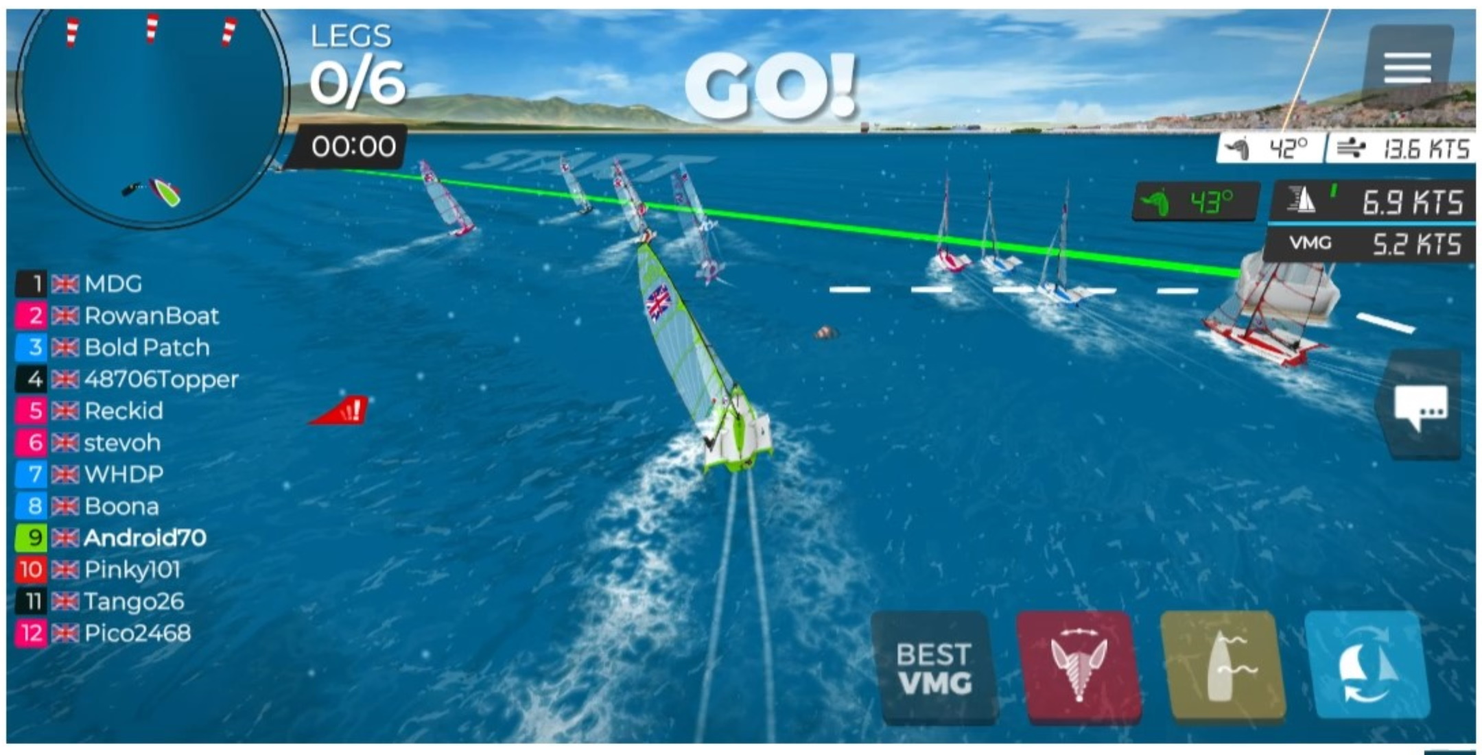 DQSC Virtual Regatta Race 3 Start 29th April 2020