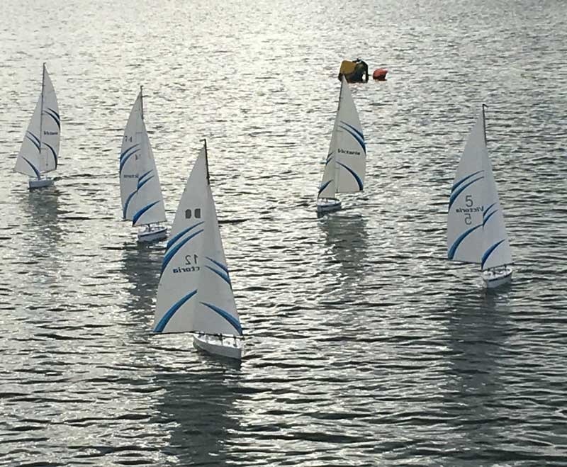 Model Yachting at Dell Quay Sailing Club